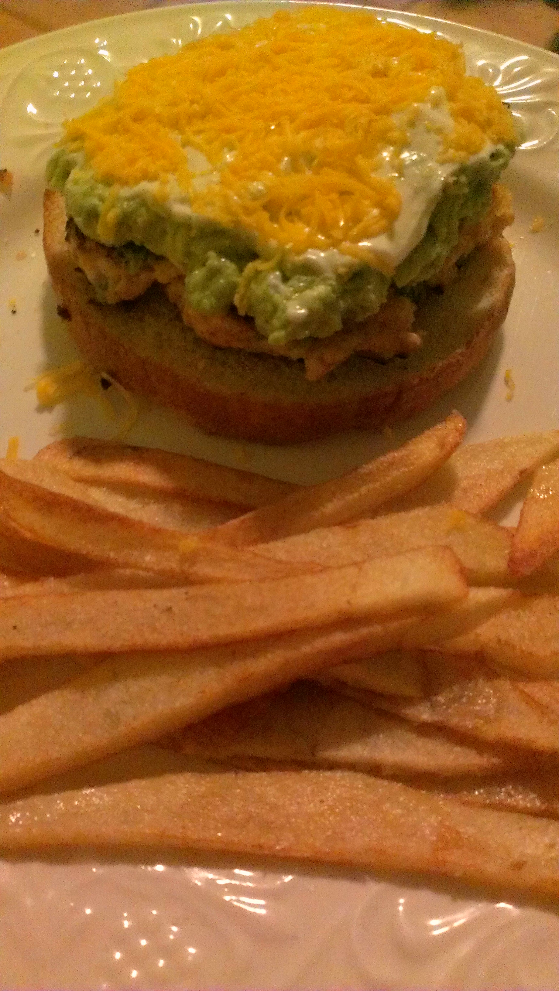 Cheddar jalapeno chicken burgers with guacamole | Cookin'.... and ...