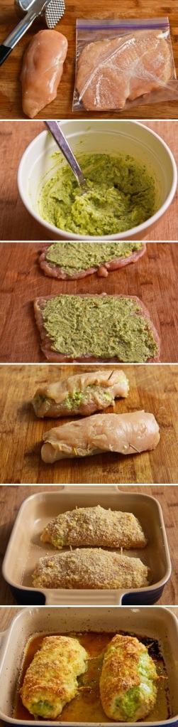 Pesto-Cheese-Stuffed-Chicken-Recipe-By-Photo