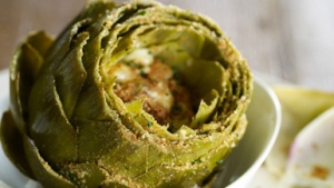 Baked_Artichoke_with_Gorgonzola_and_Herbs